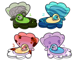 Egg adopts 3 by Kandy-Cube