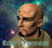 Bumpy Forehead for Genesis by JeremyVilmur