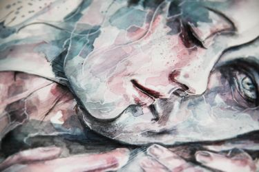 Forever yours, Freckles - detail - by agnes-cecile