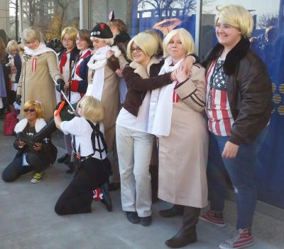 second day at Sac-Hetalia meetup-RusAme by ArthurJones93