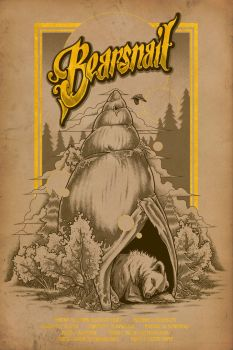 Bearsnail - Tour Poster by scumbugg