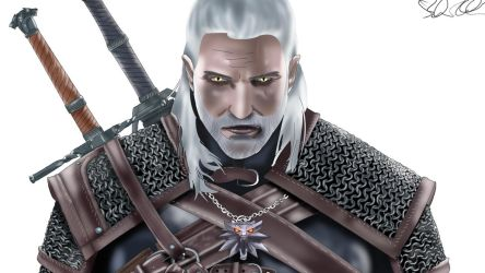 The Witcher 3 - Geralt of Rivia by MonkeyDDante