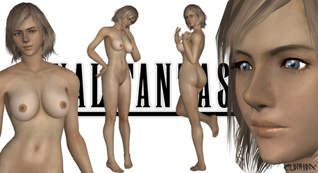Ashe (Final Fantasy XII) Nude Mod For XPS by cunihinx