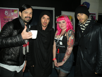 Me and 30 Seconds to Mars by skyyyscream
