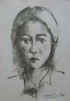 pencil sketch by nhatanhArt