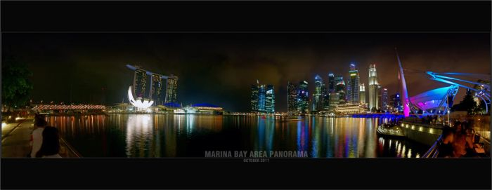 Marina Bay Singapore by clarenceangelo