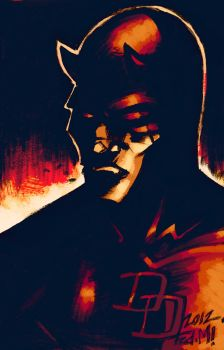 DAREDEVIL NUMBER THREE by Fredericmur