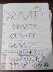 GRAVITY logos and other stufff by GoldFlash101