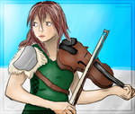 Lindsey Stirling by Ama-Lemuria