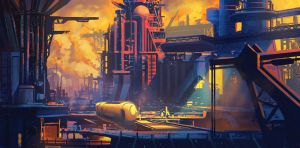 Industrial Zone by mrainbowwj