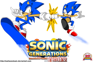 Sonic Generations Japan by wallacexteam