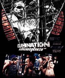 Elimination Chamber Poster by JoKeRWord