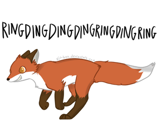 WHAT DOES THE FOX SAY? by sir-boo