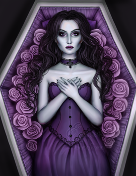 violet vampire by Enamorte