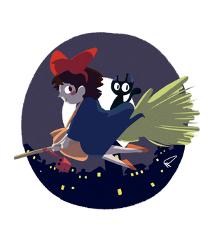 Kiki's Delivery Service by pP009