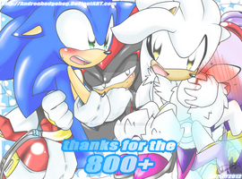 Thanks 4 the 800+ by andreahedgehog