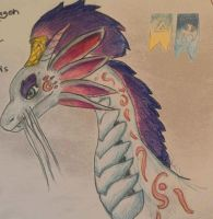 Dreamcatcher dragon face- dragon city. by Shantifiy