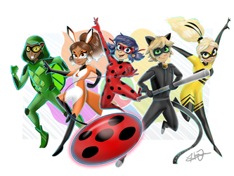 Team Miraculous! by trujayy