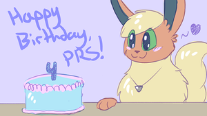 HAPPY 4th BIRTHDAY, PRS! by Petuniabubbles