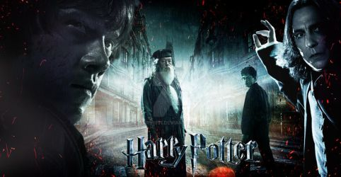 harry potter poster by yonis1991