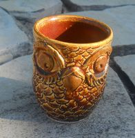 Red Owl Cup by Stormphyre