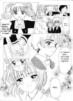 CCS Doujinshi:First Kiss Page3 by barbypornea