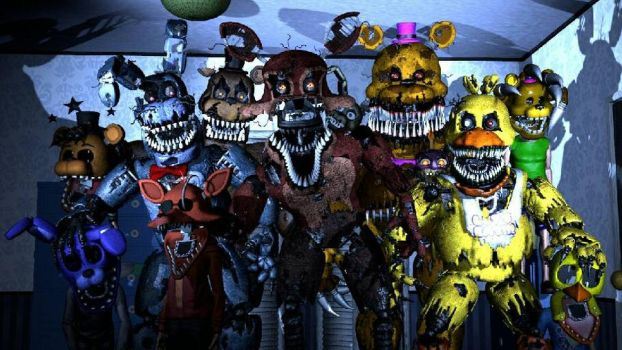 Tomorrow is Another Day - FNaF 4 SFM by Migwally-Zero