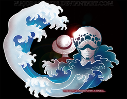 The 'D' will bring forth a storm... (One Piece) by MajorasMasks