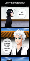 Bleach: Merry Christmas, Aizen by Mizashi