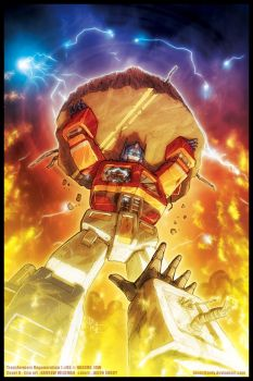 Transformers ReGeneration One #85 cover by JasonCardy