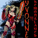 Yvonne Otero Is Yvonne The Demonslayer by zenx007