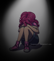 Some days are dark and lonely by FEuJenny07