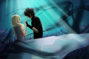 Luna and Noctis by Lukto