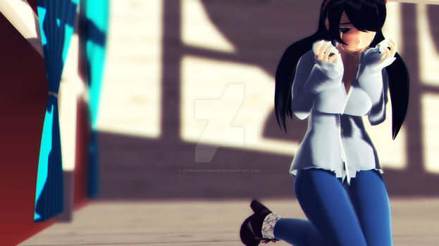 [MMD - SelfModel] CryGirl by EriPhantomhive