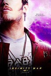 AVENGERS: INFINITY WAR - Star-Lord by spacer114
