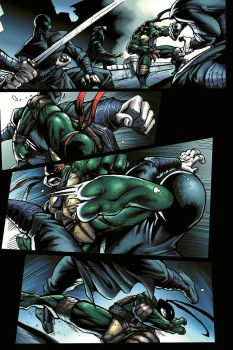 TMNT page 4 by JPRcolor