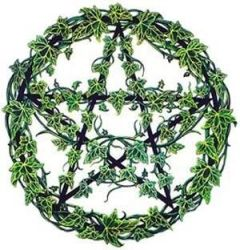 ivy pentacle by wolfmaster95