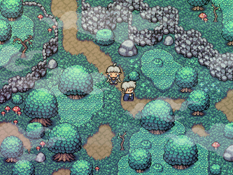 Project Mandra - Forest Tiles by Cronus-Victor