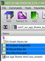 Win7 WinRaR  StyleHack For Selected Files HL Color by E-MC-2