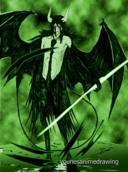 ulquiorra - body practicing #2 by younesanimedrawing