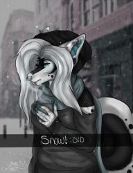 Snow -personal by Melinehno
