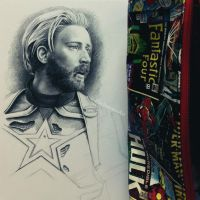 Steve Rogers WIP 2 by Cataclysm-X