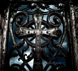 Door to a tomb by Gothicmama