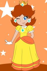 Princess Daisy by HTFWhiskersthecat