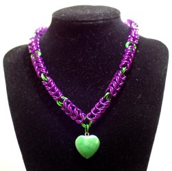green/purple hearts by TheAluminumSurfer