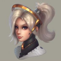 Mercy portrait by Polkin
