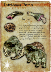 Lyithdonea Primer: Kriin by ericthered1090