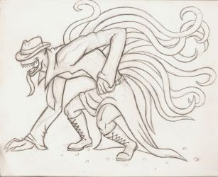 Sexual Offenderman sketch by arcanineryu