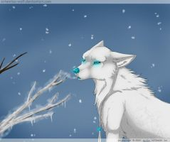 Cold breath by ArtemisA-wolf