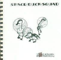 Space Duck Squad by tedbergeron